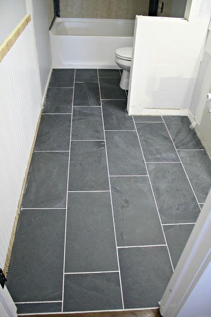 How to tile a bathroom floor (it's done!) | + DIY LIfe | Bathroom