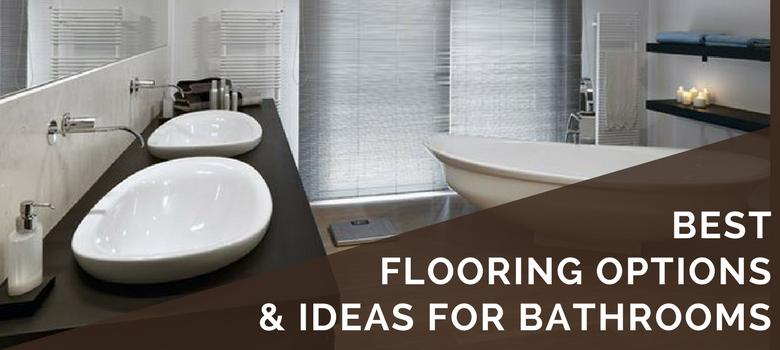 6 Best Bathroom Flooring Options in 2019 | Ideas, Tips, Pros & Cons