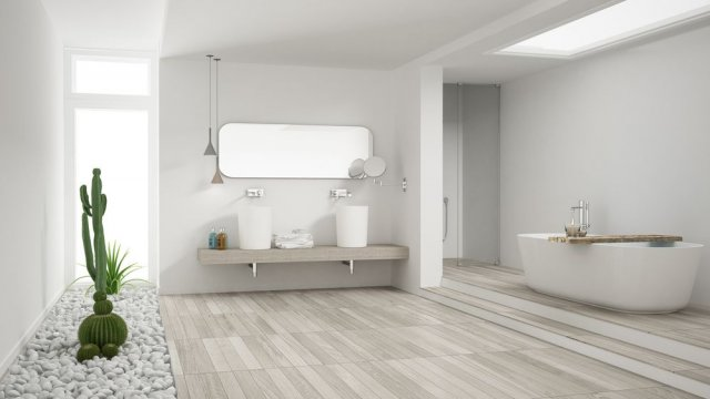 A Guide To Sustainable Bathroom Flooring Options During a Remodel