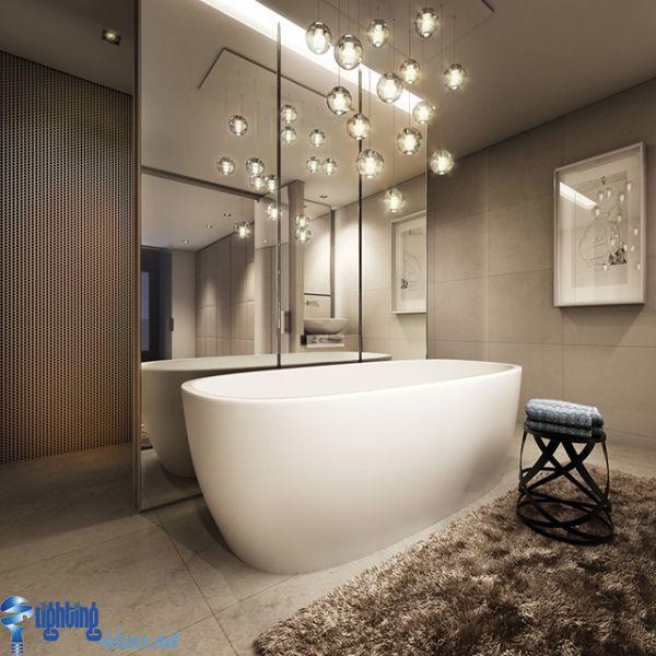 Enchanting Glamorous Bathroom Lighting Wall Lights Glamorous Modern