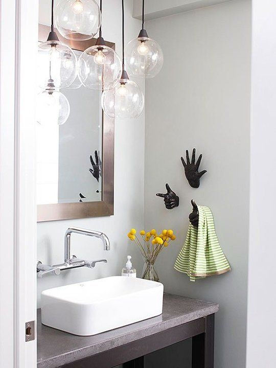 25 Creative Modern Bathroom Lights Ideas You'll Love - DigsDigs
