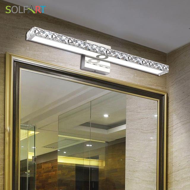 SOLFART lamp sconce bathroom wall lights led vanity lights makeup