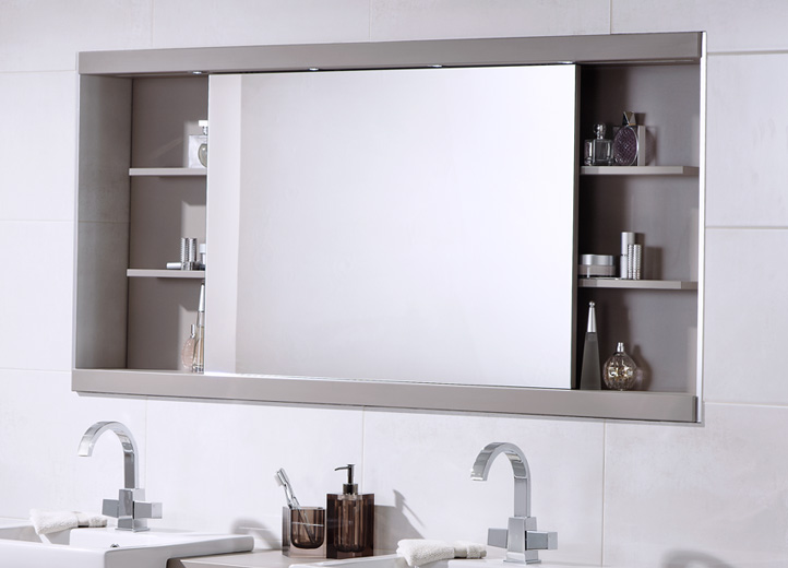 Brilliant Bathroom Cabinet Mirror Cabinets With Ideas 18 - Kenstonpd.org