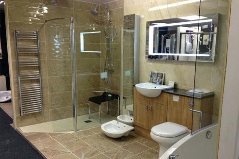 Bathroom Shower Showrooms Open Shower Design Traditional Bathroom
