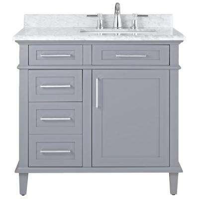 36 Inch Vanities - Bathroom Vanities - Bath - The Home Depot