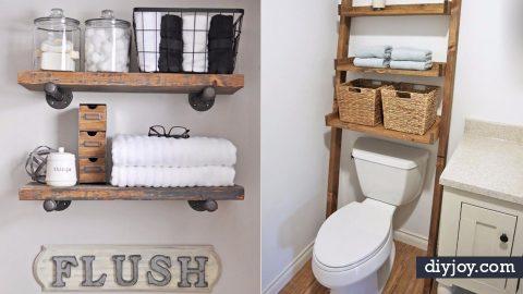 34 Bathroom Storage Ideas Guaranteed To Get You Organized