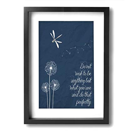 Amazon.com: Ale-art Modern Frame Bathroom Wall Art Dandelion