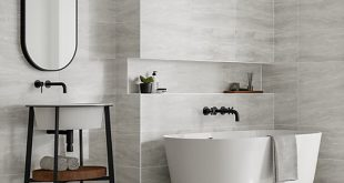 Wickes Callika Mist Grey Porcelain Tile 600 x 300mm | Wickes.co.uk