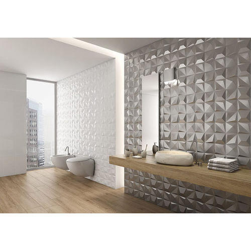 Ceramic 3D Bathroom Wall Tiles, 8 - 10 Mm, Rs 20 /square feet | ID
