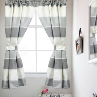 Bathroom Small Window Curtains | Wayfair