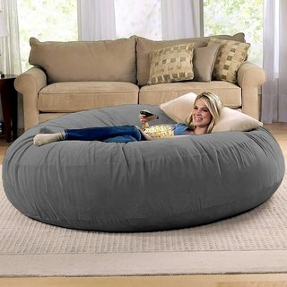 Shop Jaxx 6' Cocoon Bean Bag Sofa - Free Shipping Today - Overstock