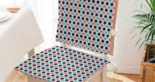 Amazon.com: Beautiful Chair Cushion Hexagonal Chain Pattern Modern