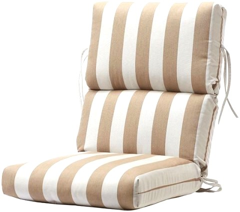25 Beautiful Outdoor High Back Chair Cushions Patio Design Ideas
