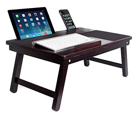 Amazon.com: Sofia + Sam Multi Tasking Laptop Bed Tray and Table