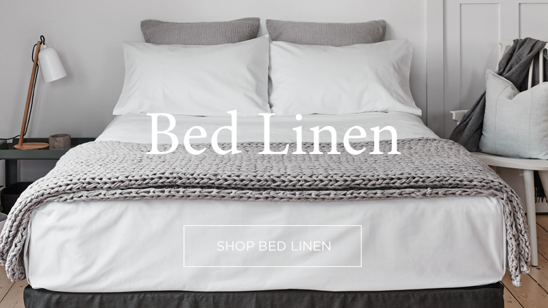 Luxury Linen Bedding & Manchester - Abode Living