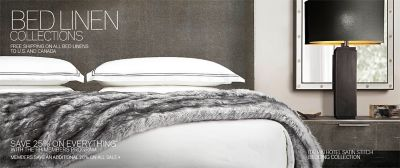 Bedding Collections | RH Modern