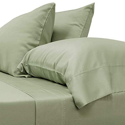 Amazon.com: Cariloha Classic Bamboo Sheets 4 Piece Bed Sheet Set
