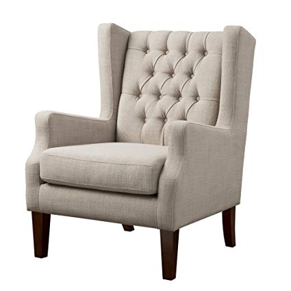 Amazon.com: Madison Park Maxwell Accent Chairs - Hardwood, Faux