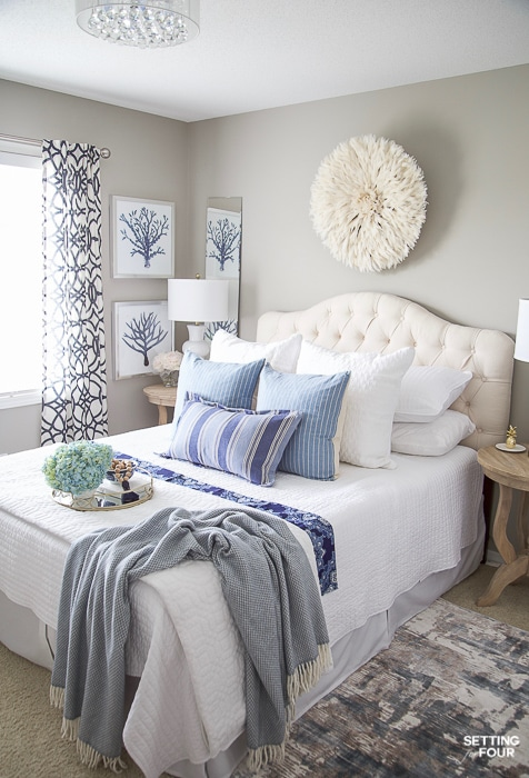 Getting your bedroom   decorating ideas in a simple manner