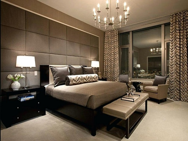 Luxurious bedroom interiors