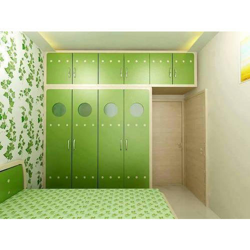Fancy Wooden Bedroom Wardrobe at Rs 1290 /square feet | Wooden