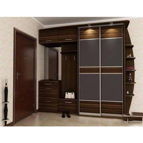Modern Plywood Bedroom Wardrobe at Rs 1290 /square feet | Plywood Ke