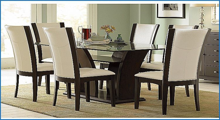 New Glass top Dining Table Set 6 Chairs | Dining Chair Design Ideas