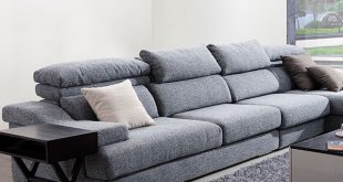 Modern Fabric Sectional Sofa with Corner minimalist modern furniture
