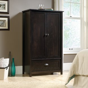 Black Armoires & Wardrobes You'll Love | Wayfair