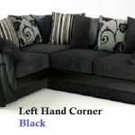 Optimize Your Living Room   Space With A Black Corner Sofa