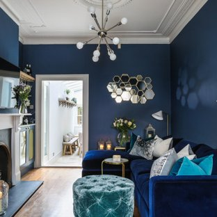75 Most Popular Blue Living Room Design Ideas for 2019 - Stylish