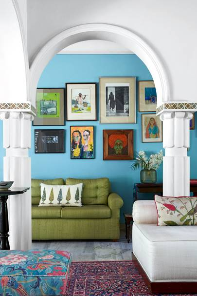 Blue Living Room Ideas | Blue paint ideas for living rooms | House