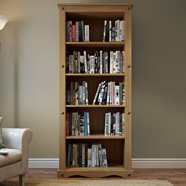 Home & Haus Traditional Corona Bookcase & Reviews | Wayfair.co.uk
