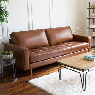 Buy Brown, Leather Sofas & Couches Online at Overstock | Our Best
