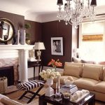 The brown living room ideas