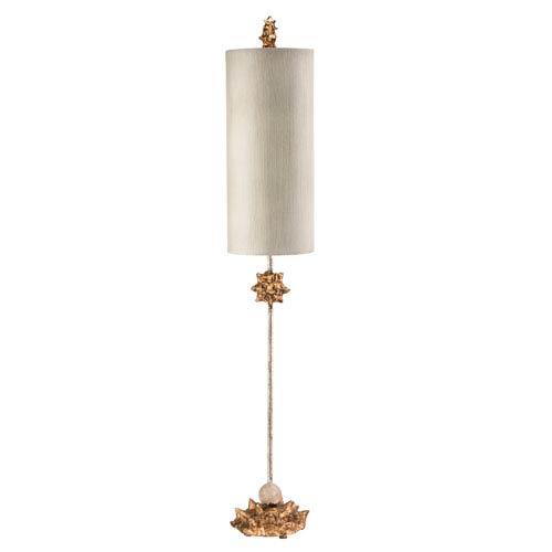 Flambeau Lighting Nettle Gold Table Lamp Ta1024 | Bellacor