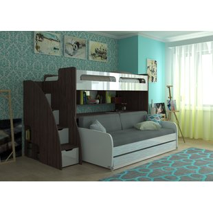 Bunk Bed With Couch | Wayfair