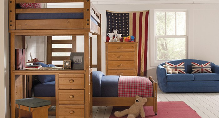 Affordable Bunk & Loft Beds for Kids - Rooms To Go Kids