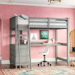 Bunk Beds with Desks are the   Best Option for Your Kids