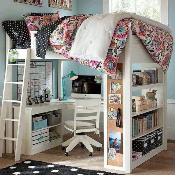 20 Loft Beds With Desks To Save Kid's Room Space   Kidsomania   Kids