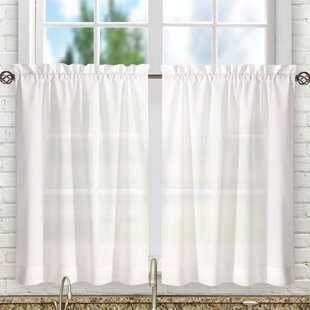 Tier Valances & Kitchen Curtains You'll Love | Wayfair