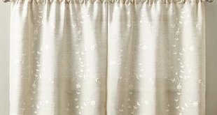 French Linen Cafe Curtains | Wayfair
