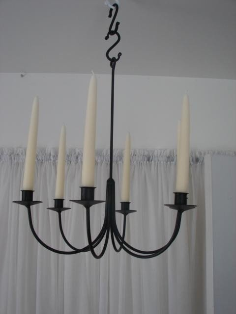 Wrought Iron Candle Chandelier - Ideas on Foter