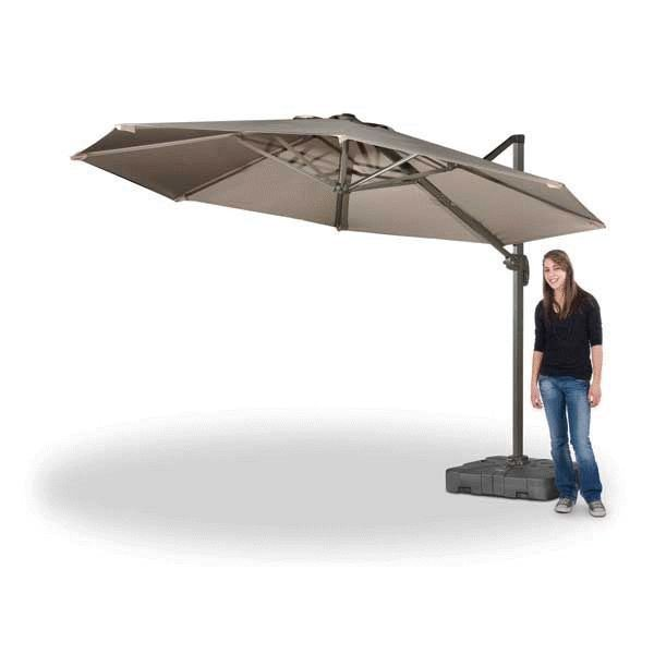 11' Cantilever Umbrella With Base | HS-11/HS-11B | World Source