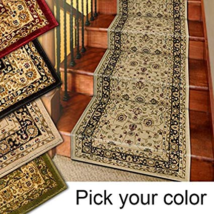 Amazon.com: Marash Luxury Collection 25' Stair Runner Rugs Stair