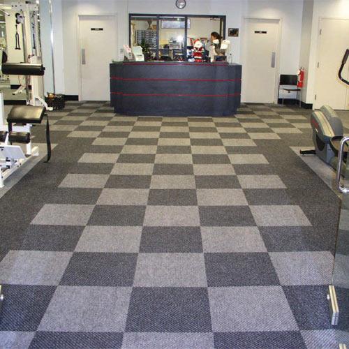 Diagonal Heavy Duty Carpet Tile - Carpet Tile