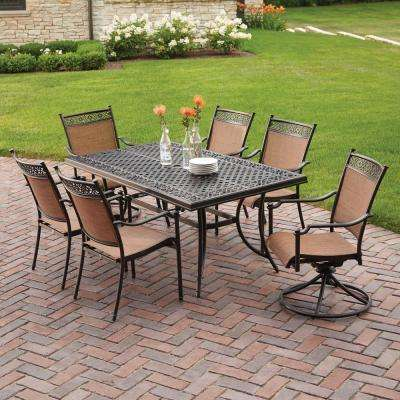 Cast Aluminum - Patio Dining Furniture - Patio Furniture - The Home