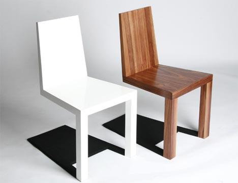 Optical Illusion Furniture: Creepy Shadow Chair Design | Designs