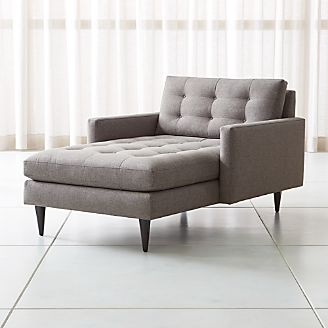Chaise Lounge Sofas & Chairs   Crate and Barrel