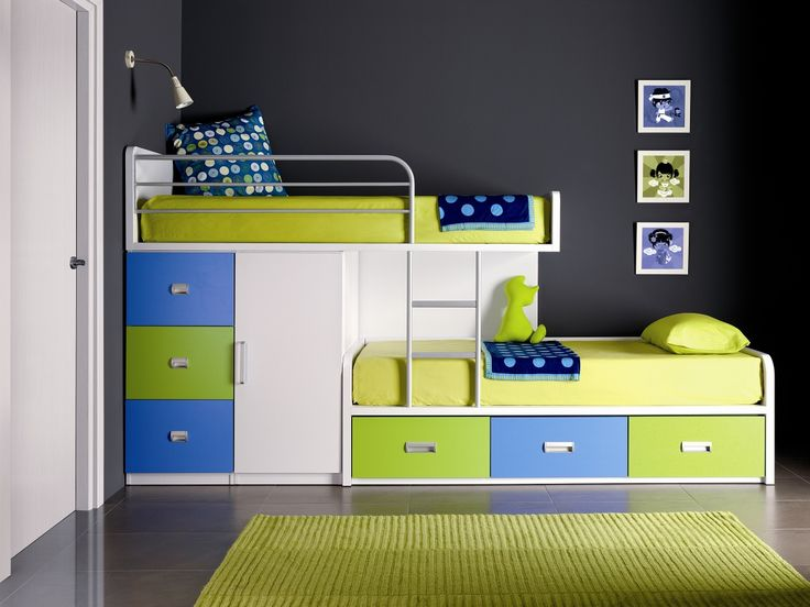 30 Space Saving Beds For Small Rooms | car house | Bunk beds boys